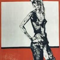 Սև տունիկա | Tunique noire | Վիմագրություն | Lithographie 76x57.5 cm | 1971