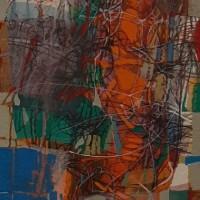 Անվերնագիր | Untitled | Կտավ, յուղաներկ | oil on canvas | 100×35 cm | 2019