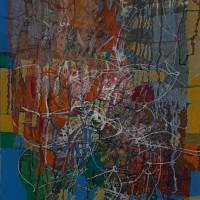 Անվերնագիր | Untitled | Կտավ, յուղաներկ | oil on canvas |100×35 cm | 2019
