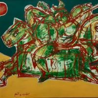 Մրցություն | Competition | Կտավ, ակրիլ | Acrylic on canvas|  94×121 cm | 1999
