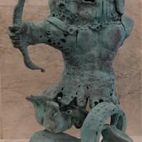 Ուրարտական սիամական զինվորներ |Urartian Ciamese Warrior | Բրոնզ | Bronze | 58×37×37 cm | 2018