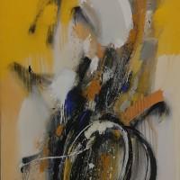 Հավերժական շարժիչ | An eternal engine | Կտավ, յուղաներկ | Oil on canvas | 125×80 cm | 2008
