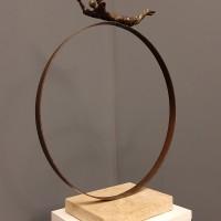 Թռիչք | Flight | Բրոնզ, պզինձ, մարմար |Bronze, Brass, Marble | 8x40x47 cm | 1996