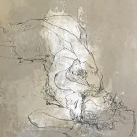Պառկած Էմման | Emma couchée | Վիմագրություն | Lithographie | 76×55 cm | 1978