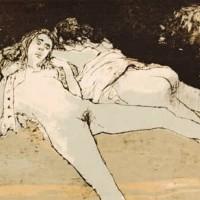 Նոկտյուրն 3 | Nocturne 3 | Վիմագրություն | Lithographie | 26×32 cm | 1995