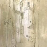 Տոդի | Todi | Վիմագրություն | Lithographie | 76x54.5 cm | 1977