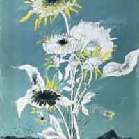 Արևածաղիկներ | Les tournesols | Վիմագրություն | Lithographie | 90x60 cm | 1989