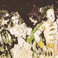 Դիմակահանդես | Carnaval | Վիմագրություն | Lithographie | 26x31.5 cm | 1995