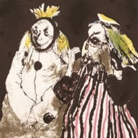 Պիեռոն և Պոլիշինելը | Pierrot et Polichinelle | Վիմագրություն | Lithographie | 27×25 cm | 1981