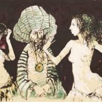 Սալոմեի պարը | La danse de Salomé | Վիմագրություն | Lithographie | 26×31.5 cm | 1995