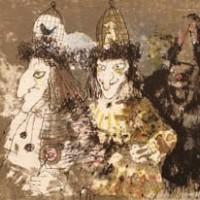 Վանդակ - գլխարկներ | Les chapeaux cages | Վիմագրություն | Lithographie | 27×33 cm | 1981