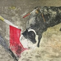 Սպանություն | La mise à mort | Վիմագրություն | Lithographie | 50.5x66 cm | 1971
