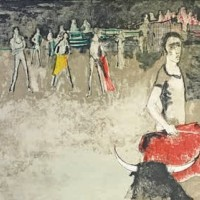 Մուլետա | La muleta | Վիմագրություն | Lithographie | 50.5x66 cm | 1971