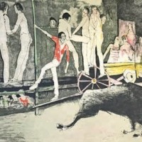 Մեղադրանք | La charge | Վիմագրություն | Lithographie | 50x65 cm | 1971