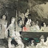 Հանդիսատեսները | Les spectateurs | Վիմագրություն | Lithographie | 50x65 cm | 1971