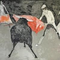 Թիկնոցներ | Les capes | Վիմագրություն | Lithographie | 50x66.5 cm | 1971