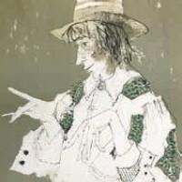 Միմոսը | Le Mime | Վիմագրություն | Lithographie 76×55 cm | 1978
