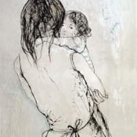 Մայրություն II | Maternité II | Վիմագրություն | Lithographie | 76x54.5 cm | 1973