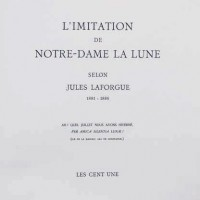 Ժյուլ Լաֆորգ - Մեր Տիրուհի Լուսնի նմանակումը | Jules Laforgue - L' Imitation de Notre-Dame la Lune | Նկարազարդումները` Ժանսեմի | Illustrations de Jansem | 1974