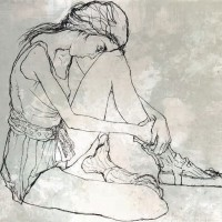 Հանգիստ | Le repos | Վիմագրություն | Lithographie | 54x76 cm | 1999