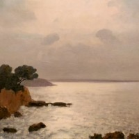 Soir doré près Sanary | Յուղաներկ, կտավ | oil on canvas | 60×45 cm