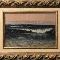 Ալիքը | The Wave | Թուղթ, յուղաներկ | Oil on carton | 44×30 cm | 1933