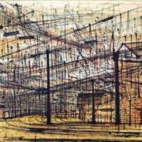 Լիոն. Տեսակավորման կայարանը | Lyon, Gare de Triage | Վիմագրություն | Lithographie | 32×40.5 cm
