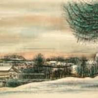 Մեժև | Megève | Վիմագրություն | Lithographie | 32x40.5 cm