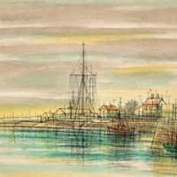 Օնֆլյոր. Փարոսը | Honfleur, le Sémaphore | Վիմագրություն | Lithographie | 32×40.5 cm