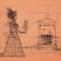 Կախարդված պալատը | Le palais enchanté | Փորագրանկար | Gravure | 51x67 cm | 1972
