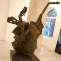 Նվագախումբ | Orchestra | Բրոնզ | Bronze |40×83 cm / 15.7×32.7 in | 2013