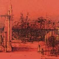Արմադա | L'armada | Վիմագրություն | Lithographie | 56x75.5 cm | 1983