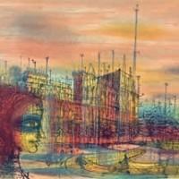 Զմայլված ափը | Le rivage enchanté | Վիմագրություն | Lithographie | 56x75 cm | 1970