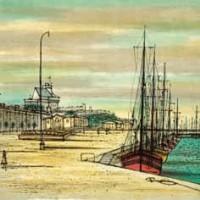 Սեն-Մալո | Saint-Malo | Վիմագրություն | Lithographie | 32x40.5 cm