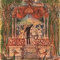 Գիշերային փոքրիկ երաժշտություն Petite musique de nuit | Վիմագրություն | Lithographie | 49.5x38 cm