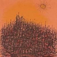 Կախարդական սարը | La montagne magique | Վիմագրություն | Lithographie | 42.5×33 cm | 1971