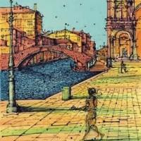 Ջրանցք Վենետիկում | Canal à Venise | Վիմագրություն | Lithographie | 53.5×38 cm | 1992