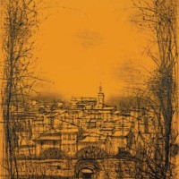 Ռուսիլյոն | Roussillon | Վիմագրություն | Lithographie | 76x56 cm | 1962