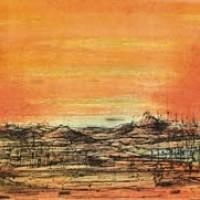Հրաբուխներ | Les Volcans | Վիմագրություն | Lithographie | 38×56.5 cm | 1968