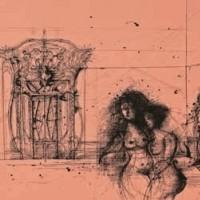 Փակ դուռը | La porte close | Վիմագրություն | Lithographie | 42×44 cm | 1983