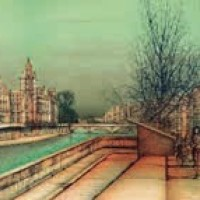 Սենի ափին | Au bord de la Seine Վիմագրություն | Lithographie 56x76 cm | 1984   Գմբեթը II | La coupole II | Վիմագրություն | Lithographie 54.5x76 cm | 1983