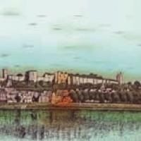 Շինոն | Chinon | Վիմագրություն | Lithographie 62x89 cm | 1988