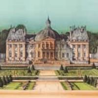 Վո լե Վիկոնտ | Vaux le Vicomte | Վիմագրություն | Lithographie 62x89 cm | 1988