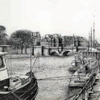 Նոր կամուրջը | Le pont Neuf | Վիմագրություն | Lithographie | 41x56 cm | 1986