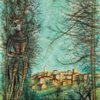 Վենս | Vence | Վիմագրություն | Lithographie 32x24.5 cm | 1964