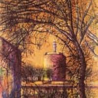 Էգ-Մորտ | Aigues-mortes | Վիմագրություն | Lithographie 32x24.5 cm | 1964