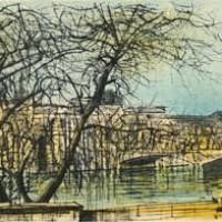 Լուվրը | Le Louvre | Վիմագրություն | Lithographie | 38×56 cm | 1968