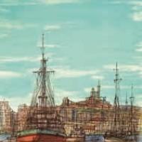 Մարսել | Marseille | Վիմագրություն | Lithographie 32x24.5 cm | 1965
