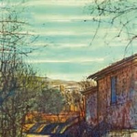 Կուկուրոն | Cucuron | Վիմագրություն | Lithographie 32x24.5 cm | 1964