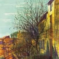 Բոնյո | Bonnieux | Վիմագրություն | Lithographie 32x24.5 cm | 1964